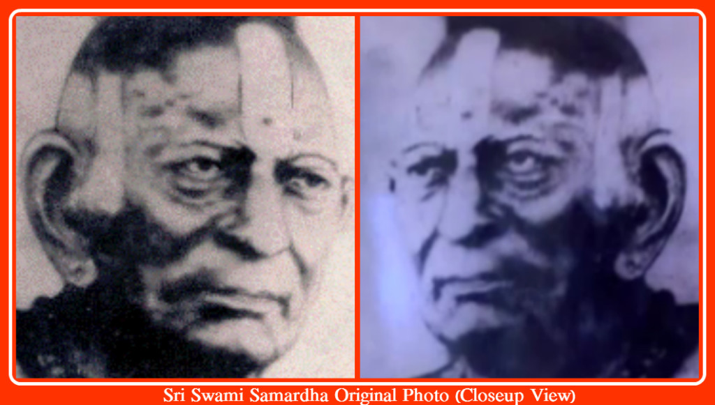 Sri Swami Samardha Original Photo