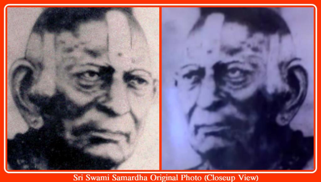 Sri Swami Samardha Original Photo