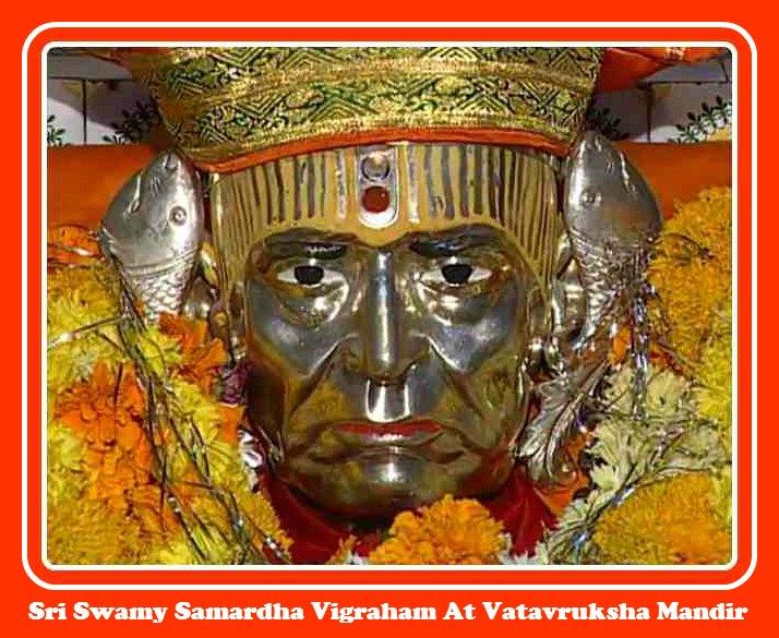Swami Samardha Vigraham At Vatavruksha Mandir , Akkalkot