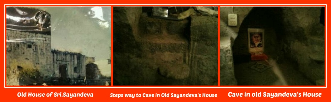 Old House & A Cave - Steps in Sayandeva's House