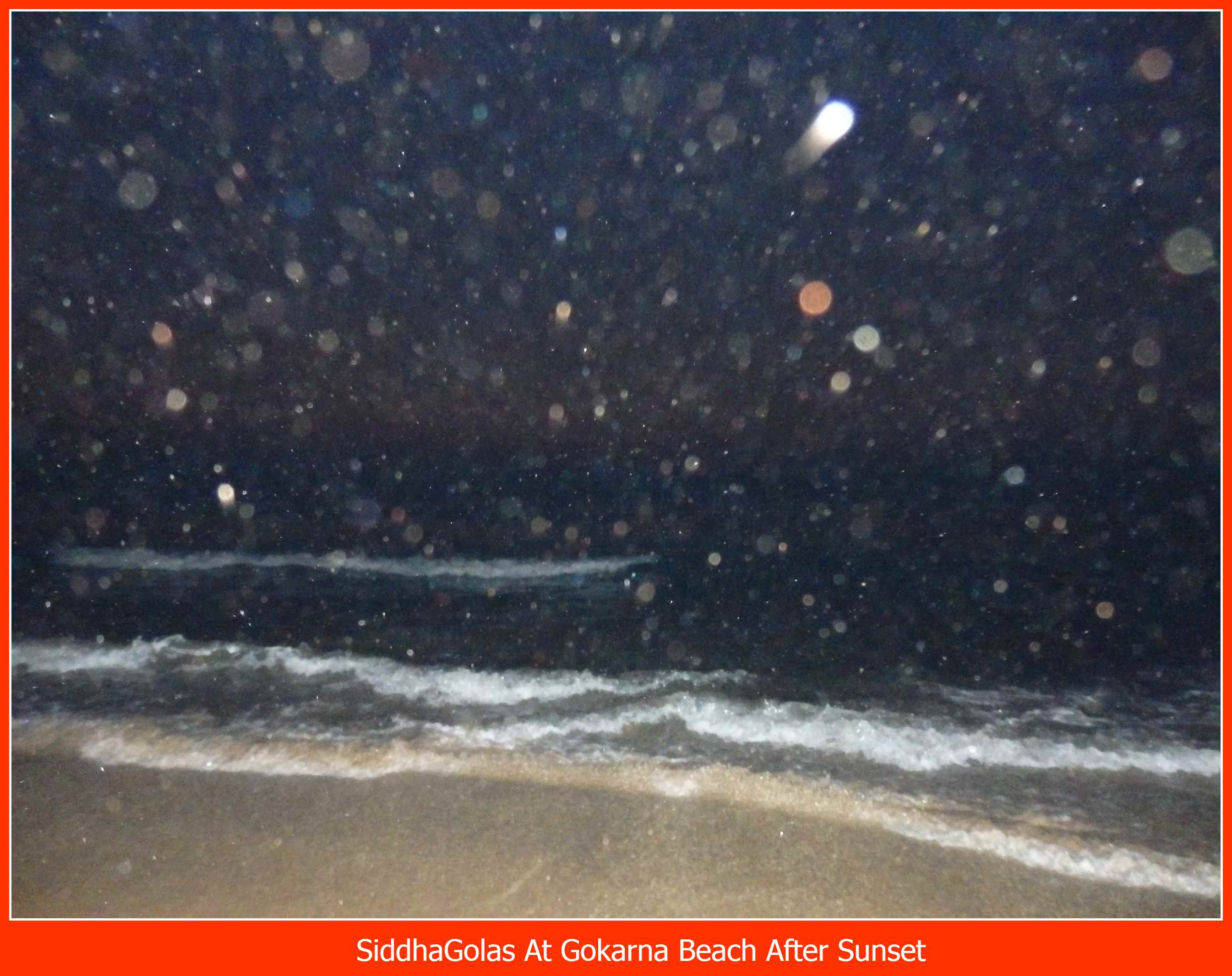 SiddhaGolas At Gokarna Beach After Sunset