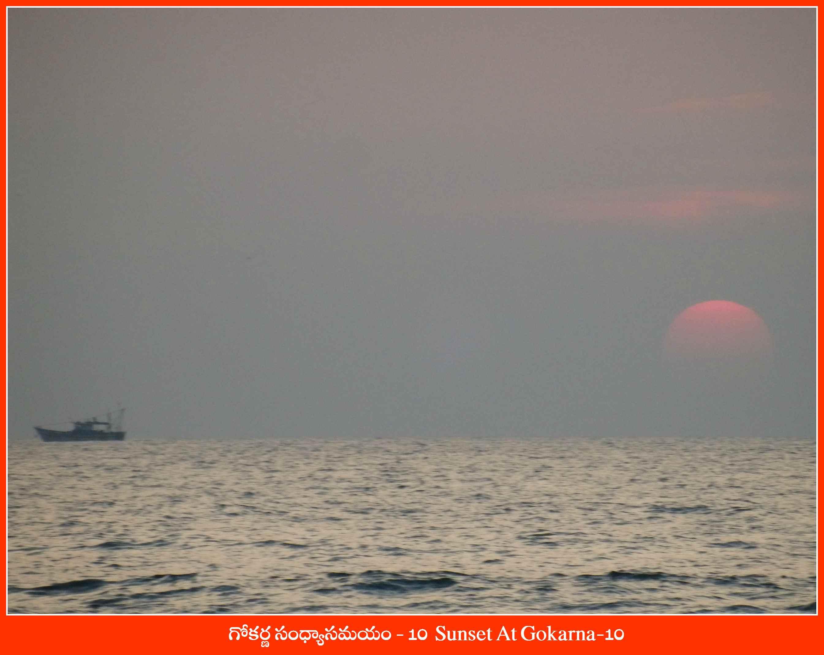 Sunset At Gokarna-10