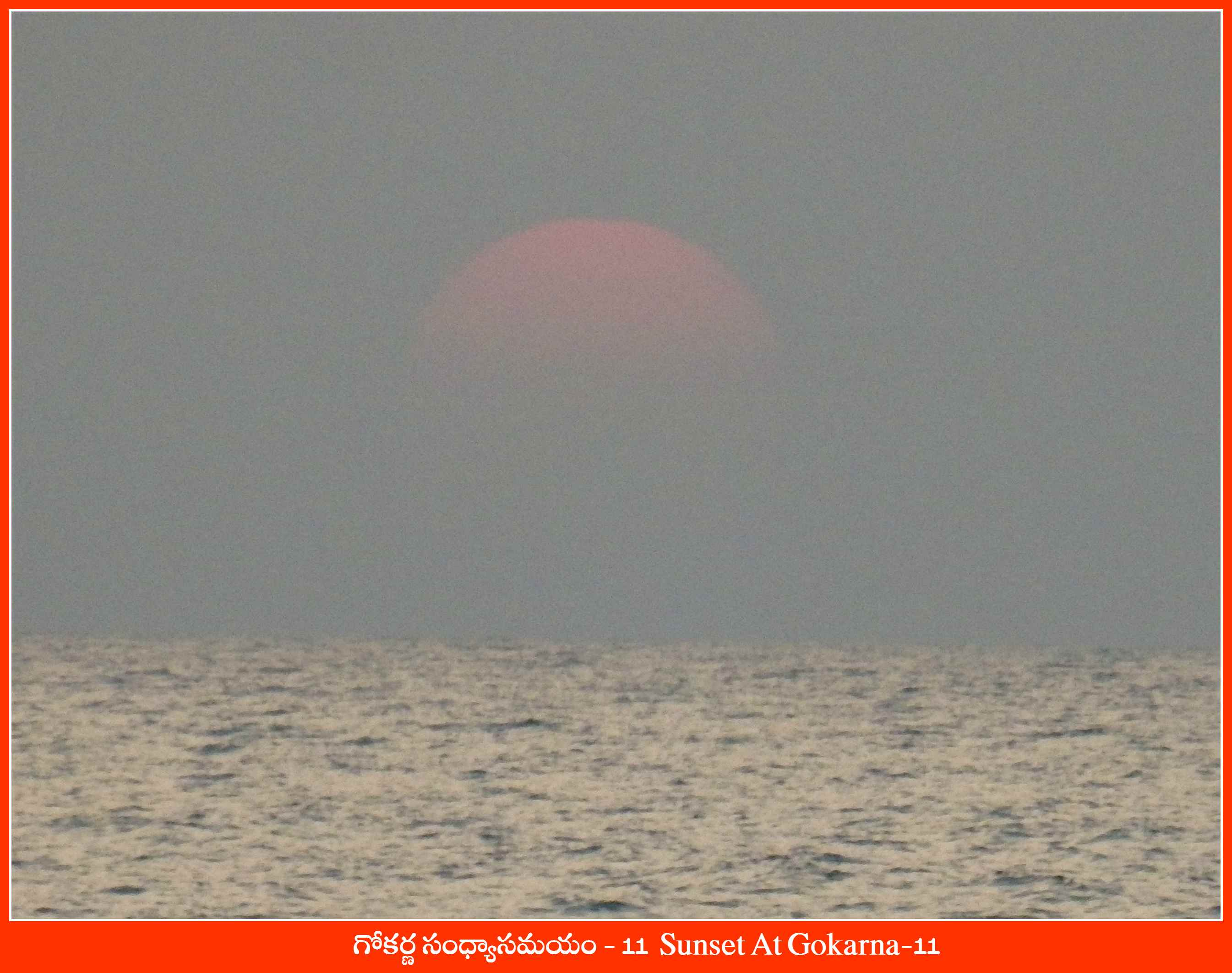 Sunset At Gokarna-11