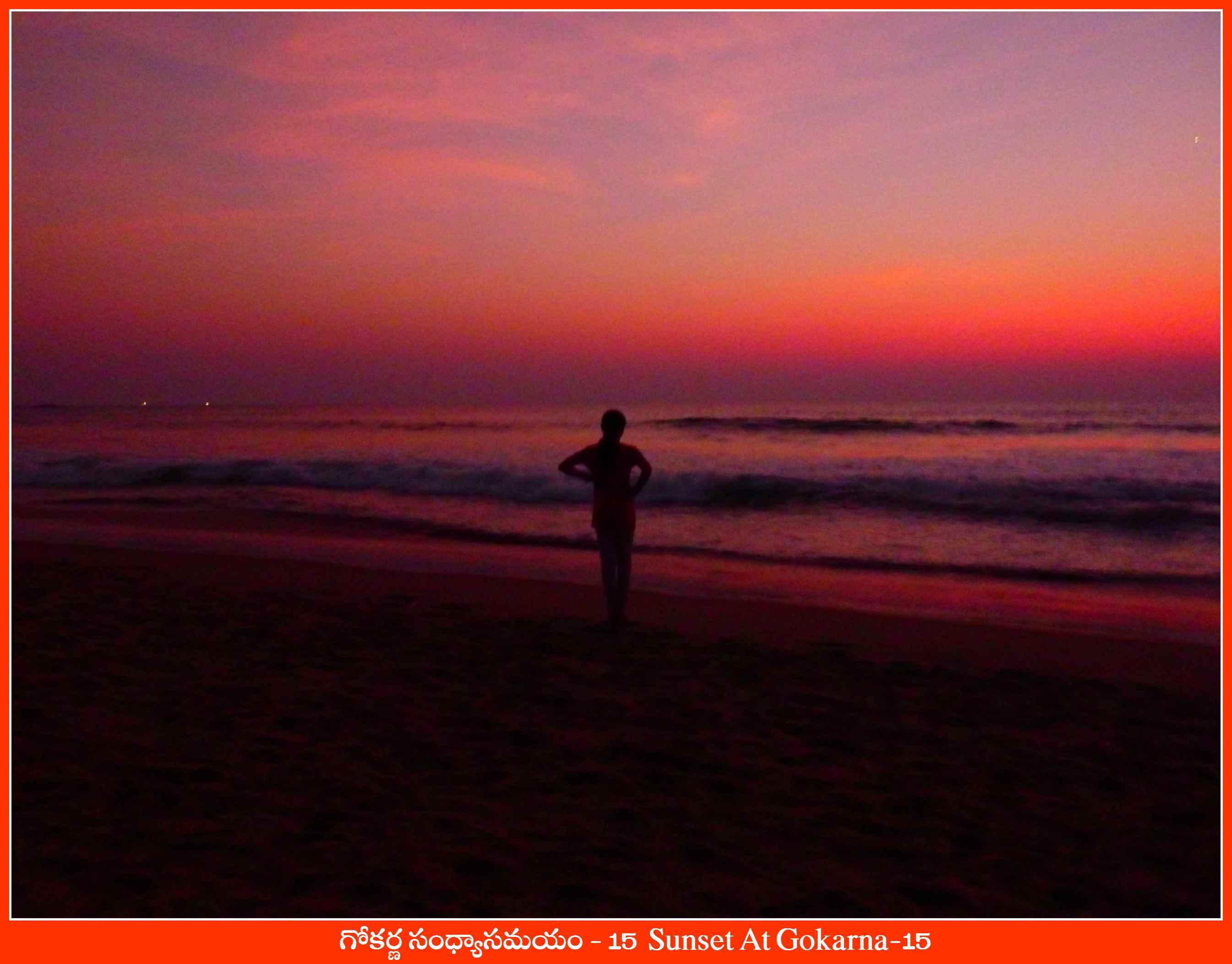 Sunset At Gokarna-15