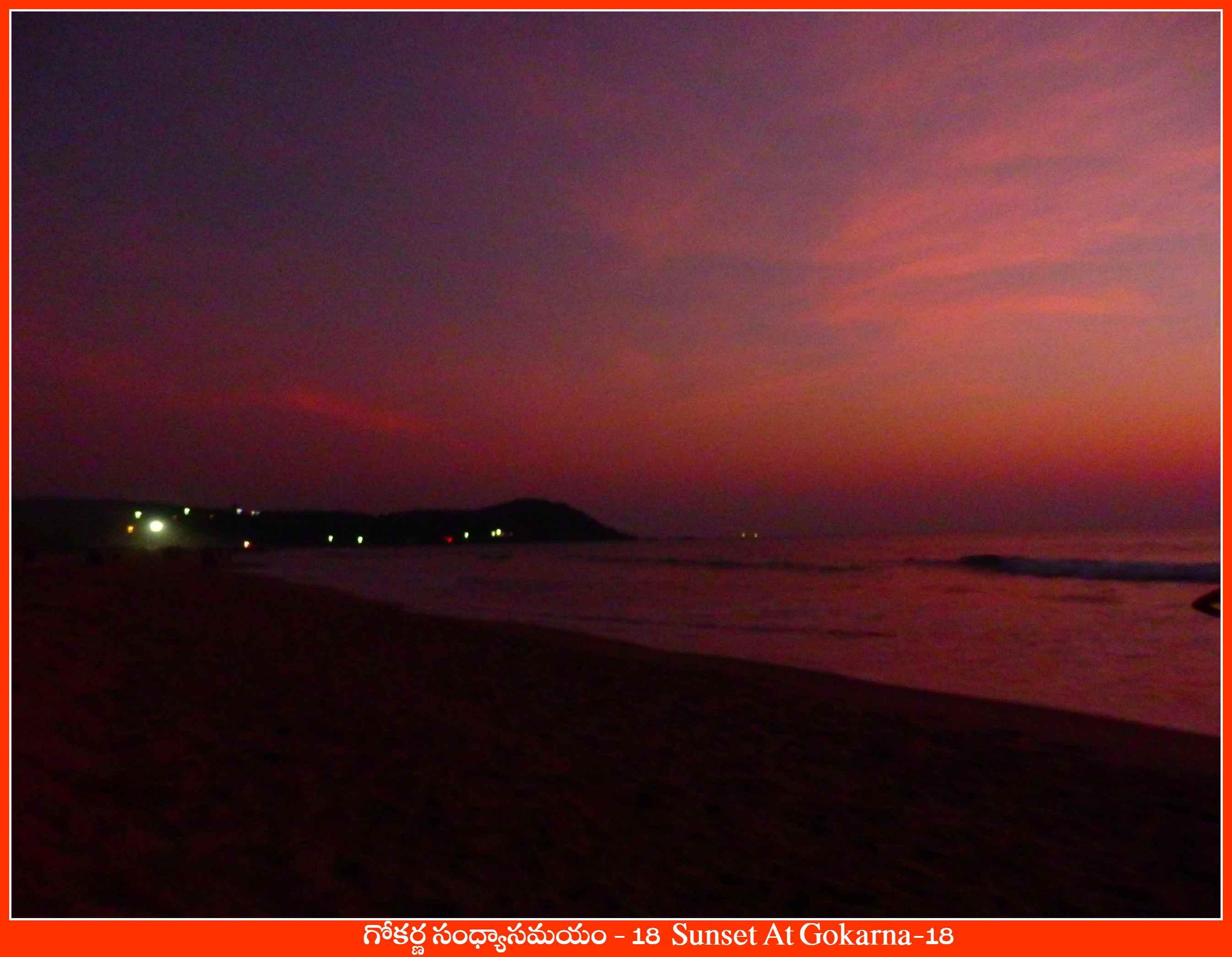 Sunset At Gokarna-18