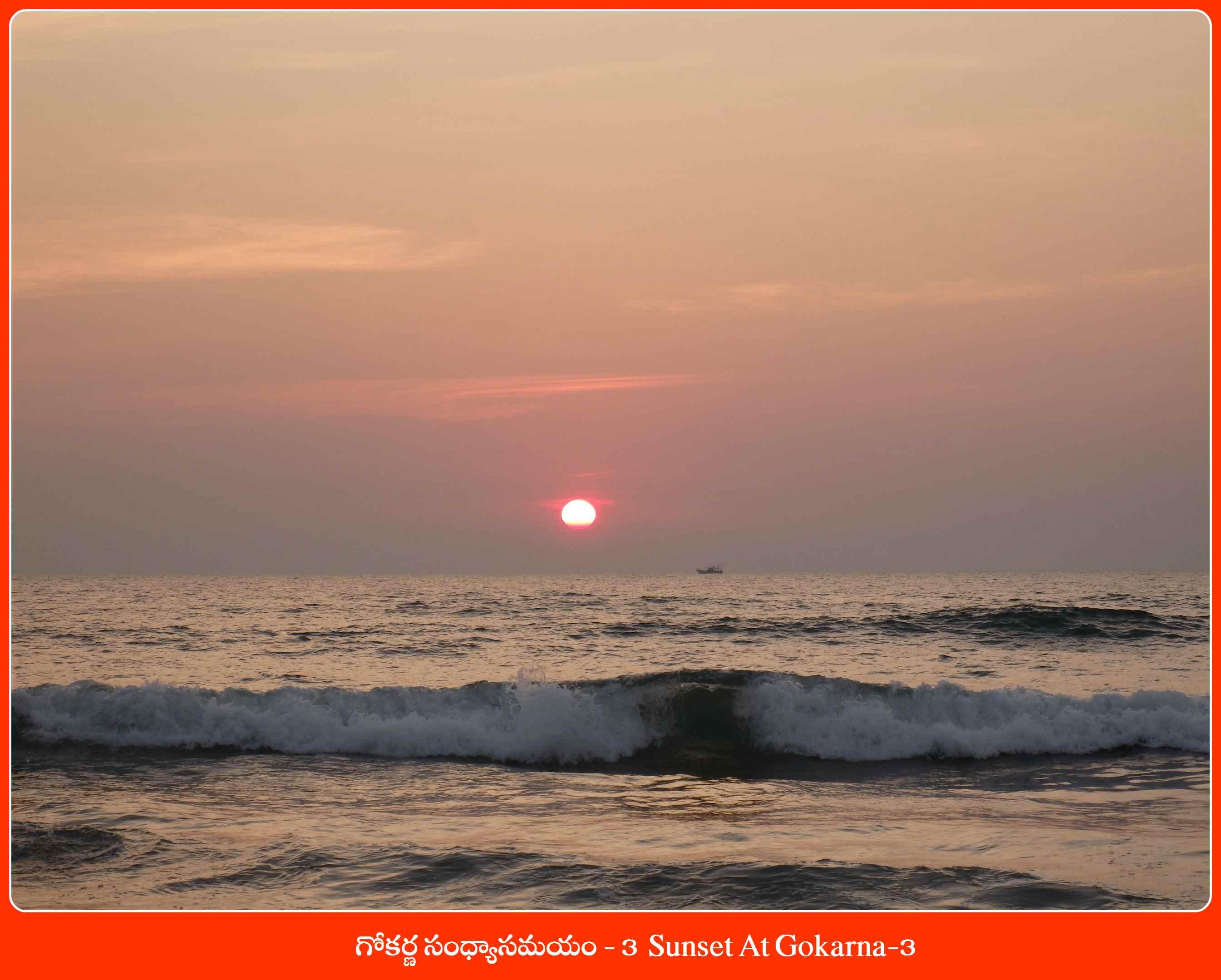 Sunset At Gokarna-3
