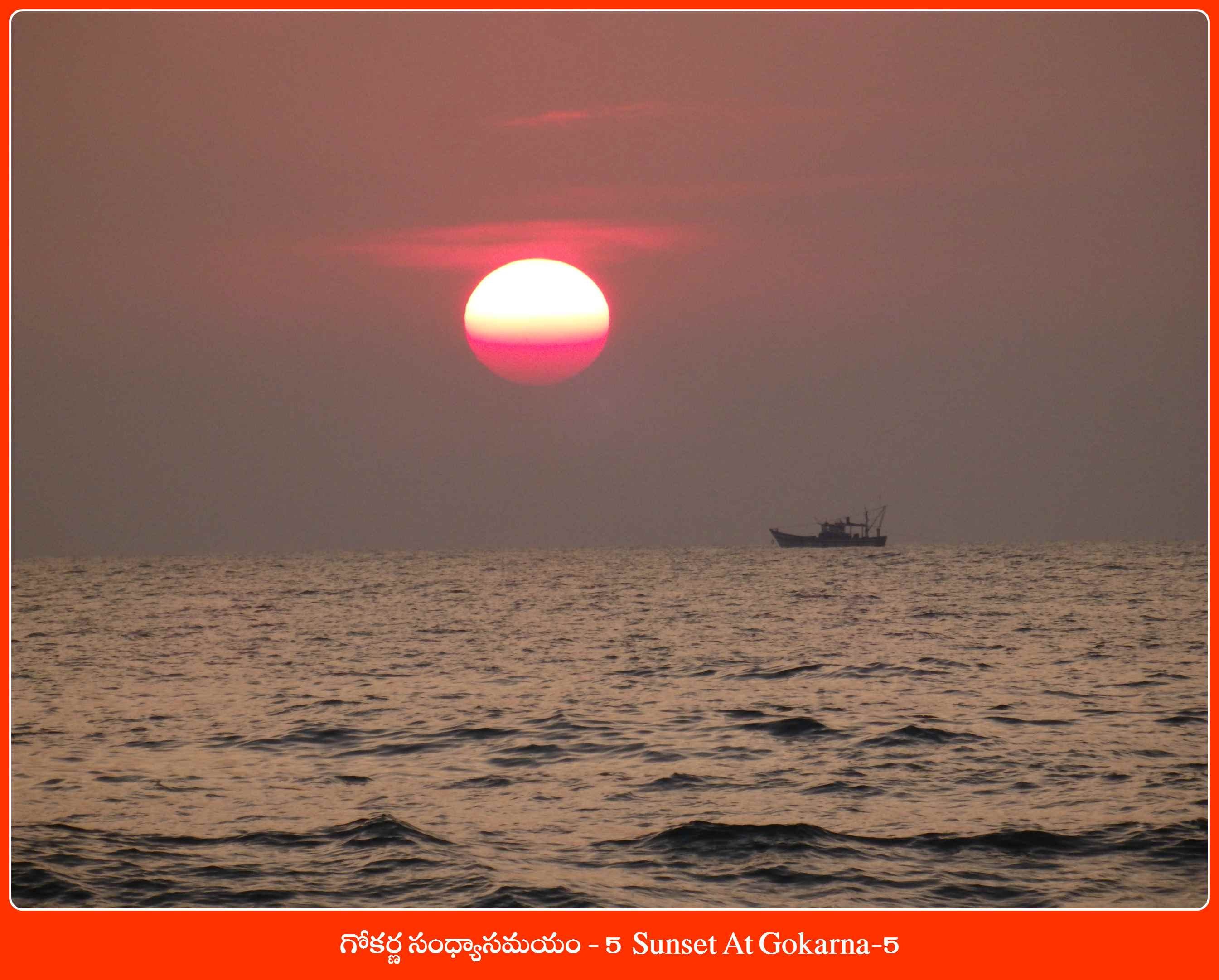 Sunset At Gokarna-5