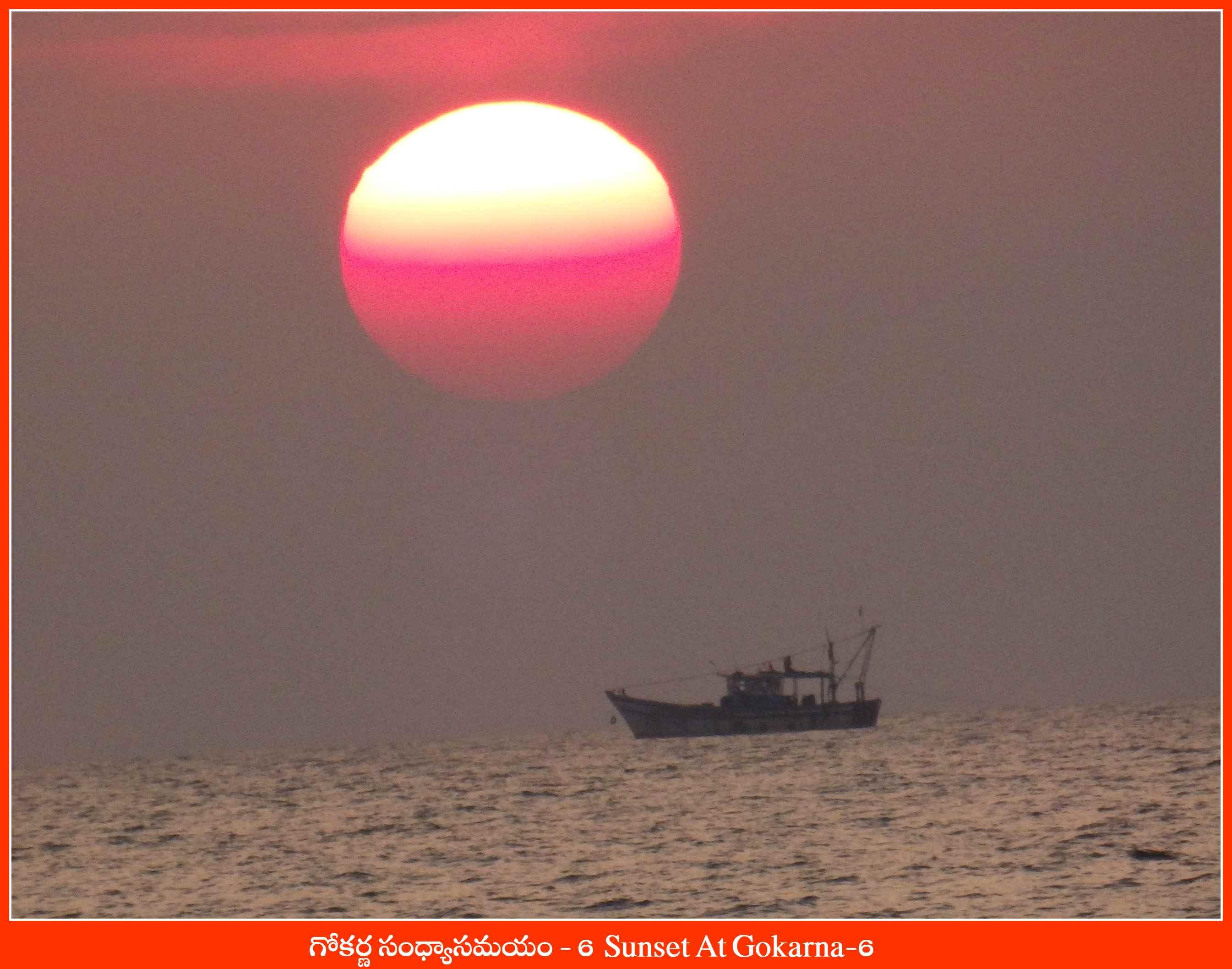 Sunset At Gokarna-6