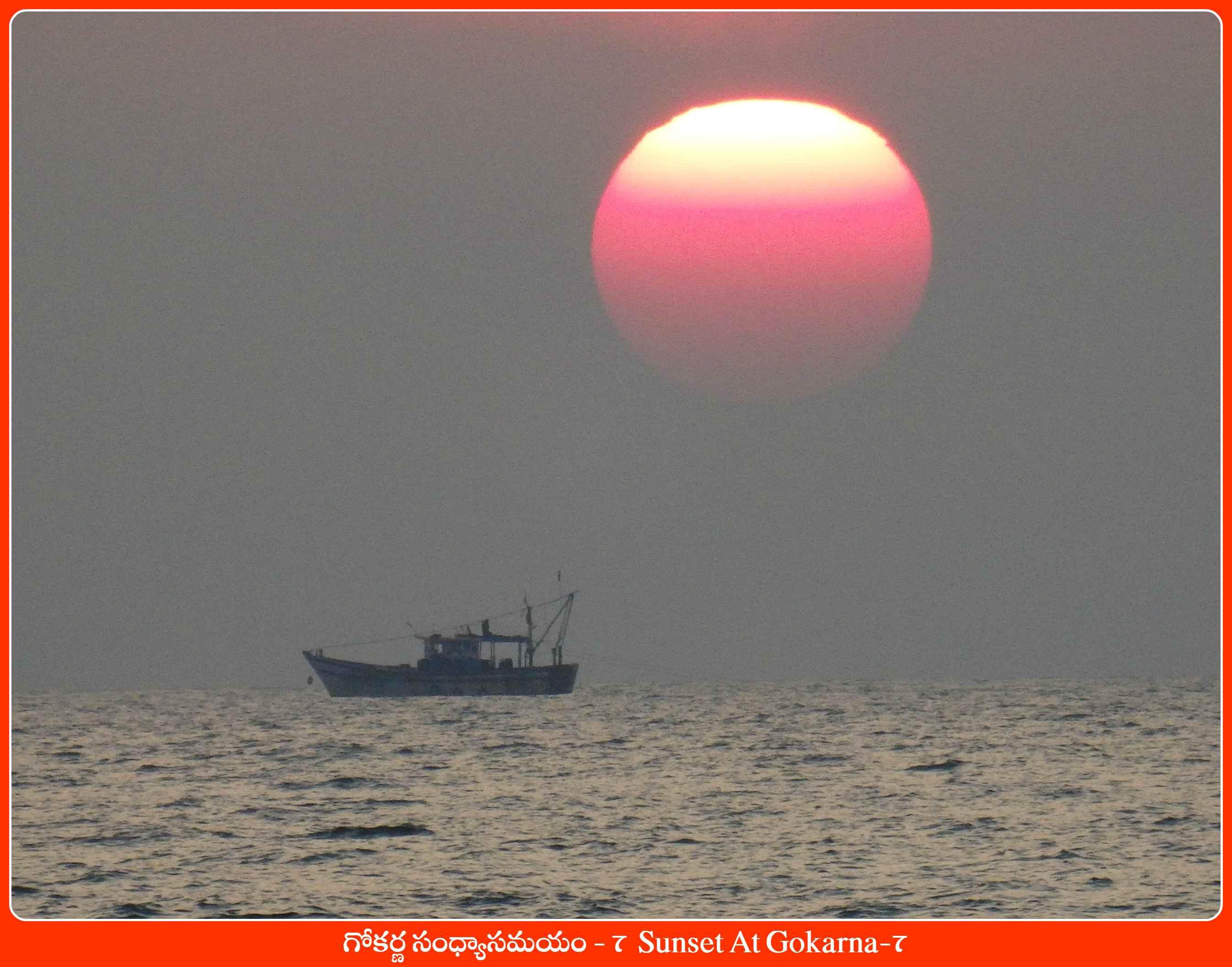 Sunset At Gokarna-7