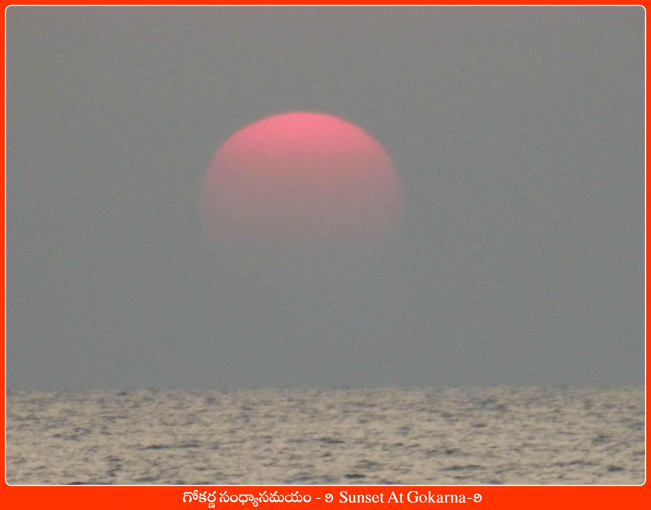 Sunset At Gokarna-9